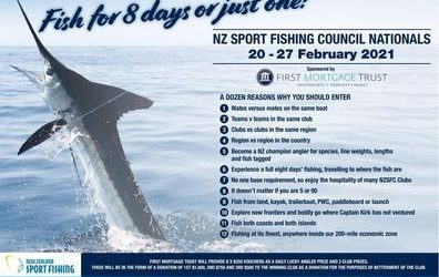 NZ Sport Fishing Council Nationals 2021